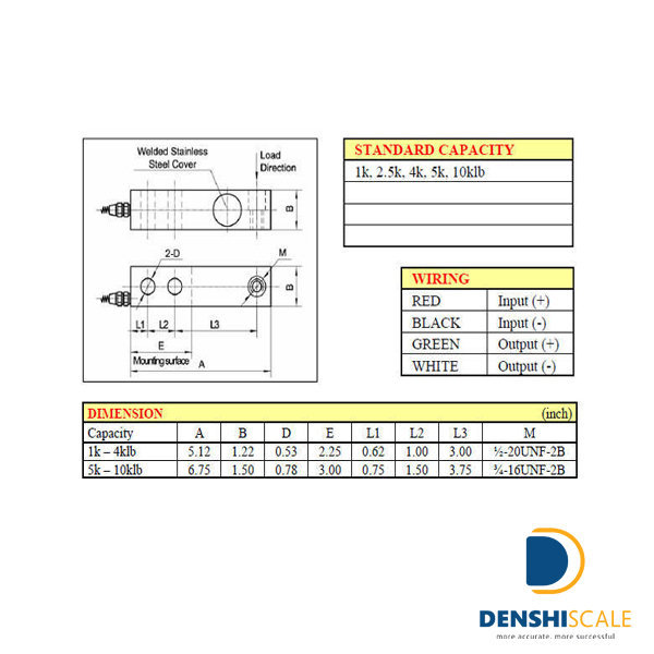 Loadcell VLC 100SH